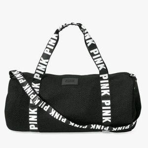 Victoria secret PINK mesh duffle bag